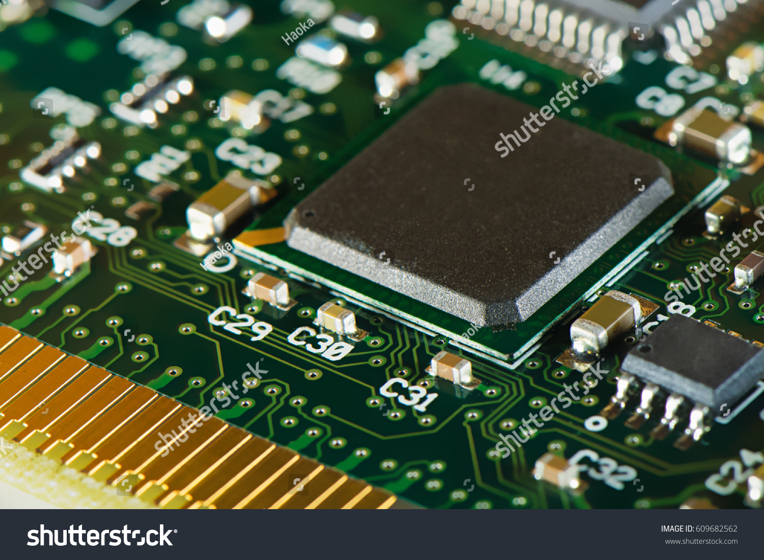Macro Shot Integrated Circuit Many Uses Stock Photo Edit Now Of Circuits In The Electronics Industry