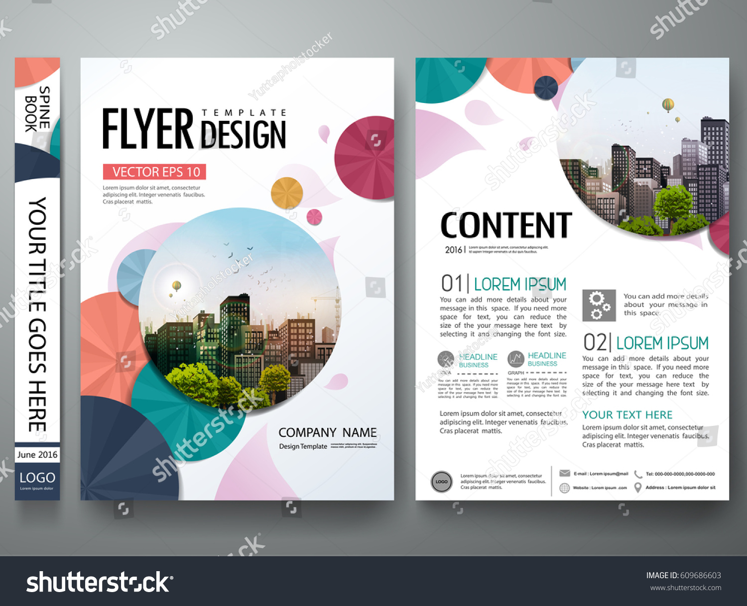 Portfolio template vector minimal flower brochure stock vector portfolio template vector minimal flower brochure design report business flyers magazine poster abstract cover cheaphphosting Images