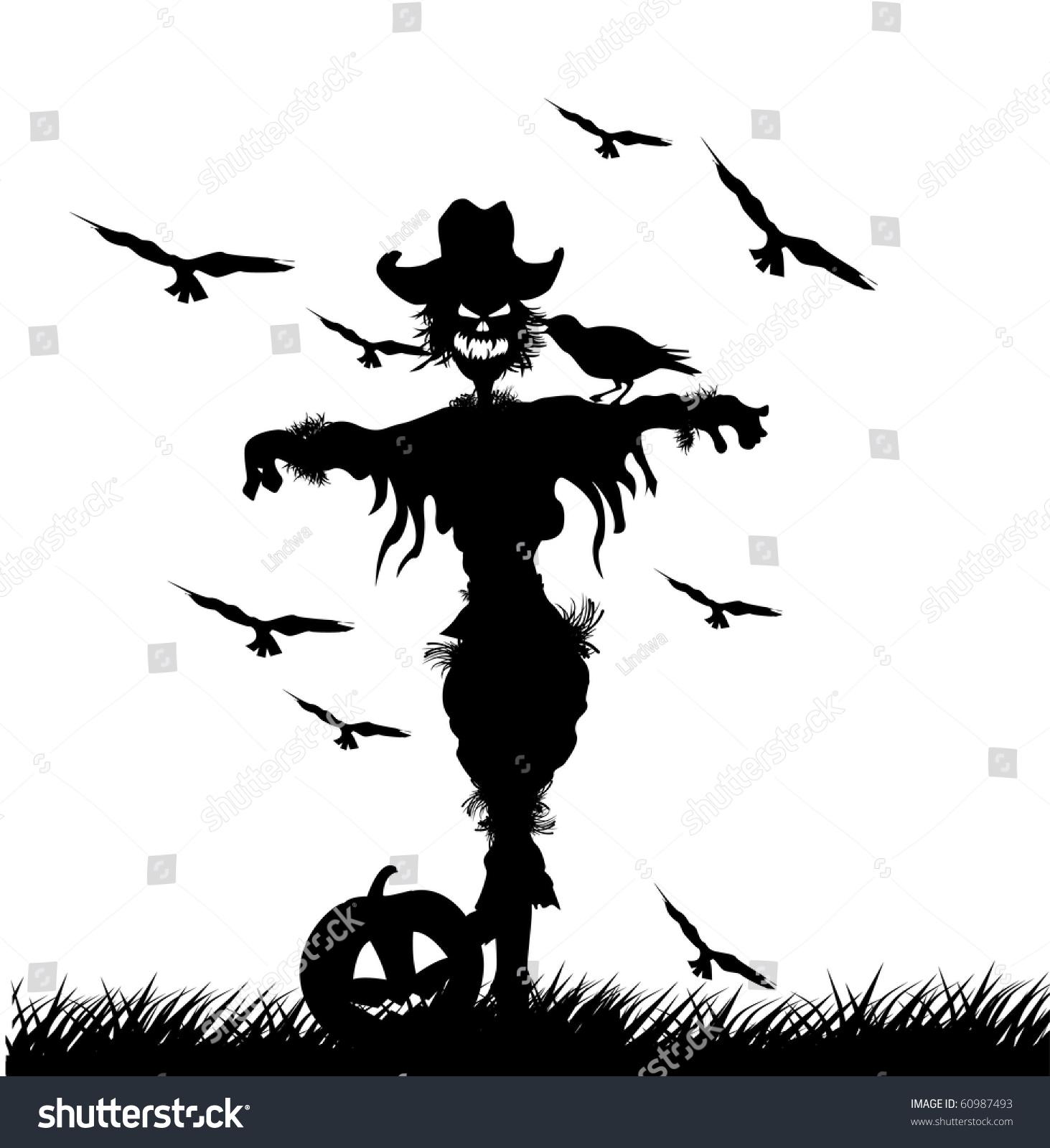 Halloween Pumpkin Zombie Scarecrow Vector | Free Vector Graphic ...