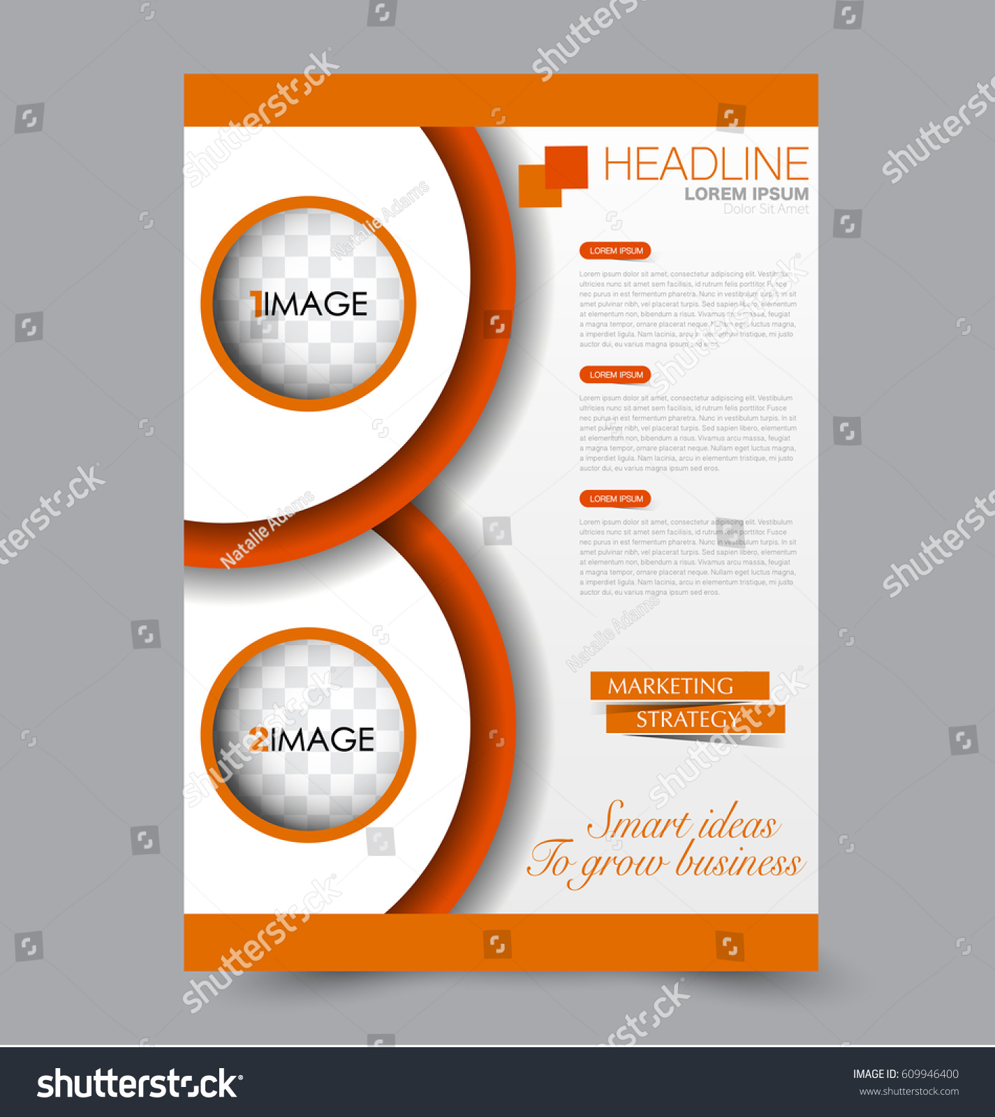 flyer template business brochure design annual stock vector (royalty, Spe Presentation Template, Presentation templates