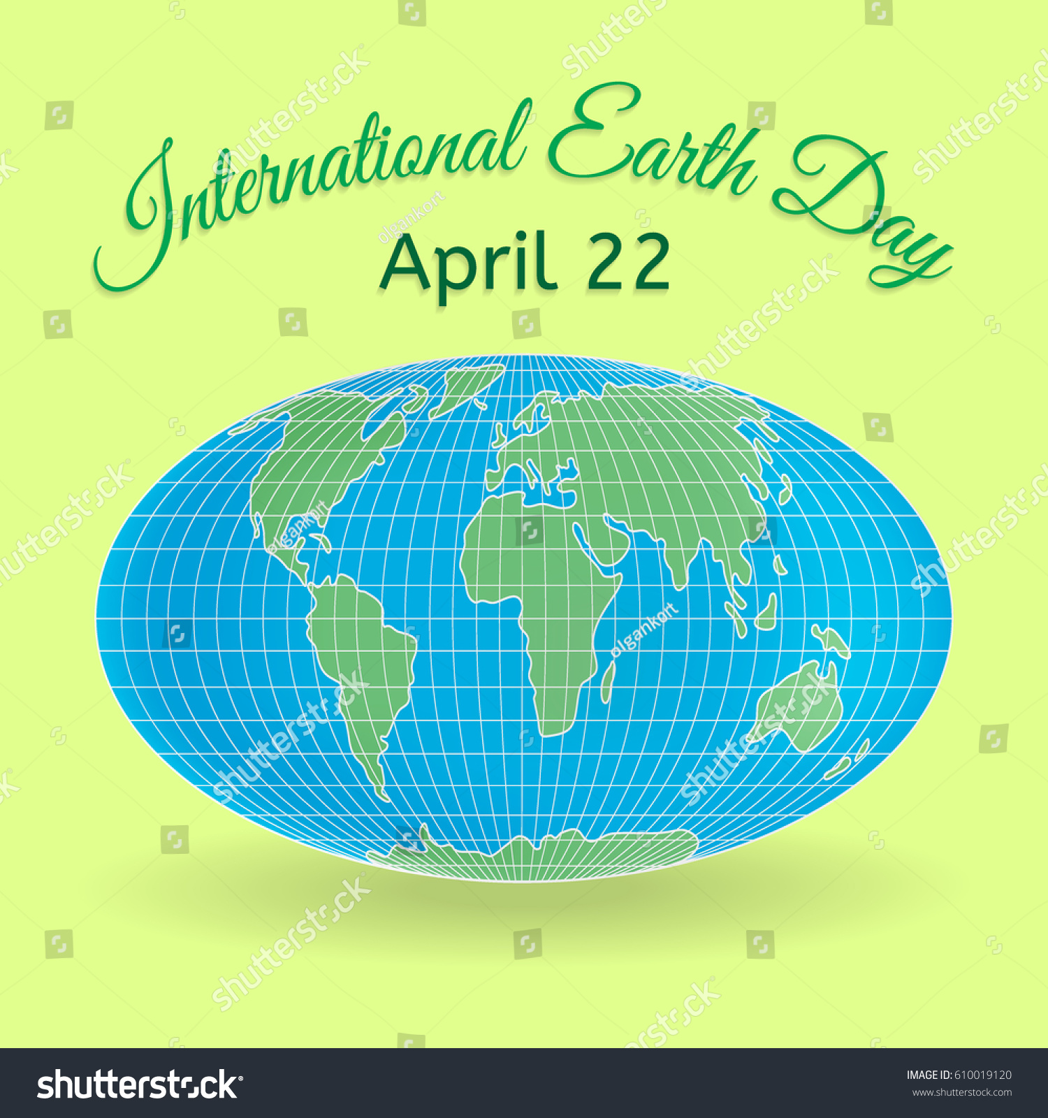 International Mother Earth Day Theme 3 D Stock Photo Photo Vector