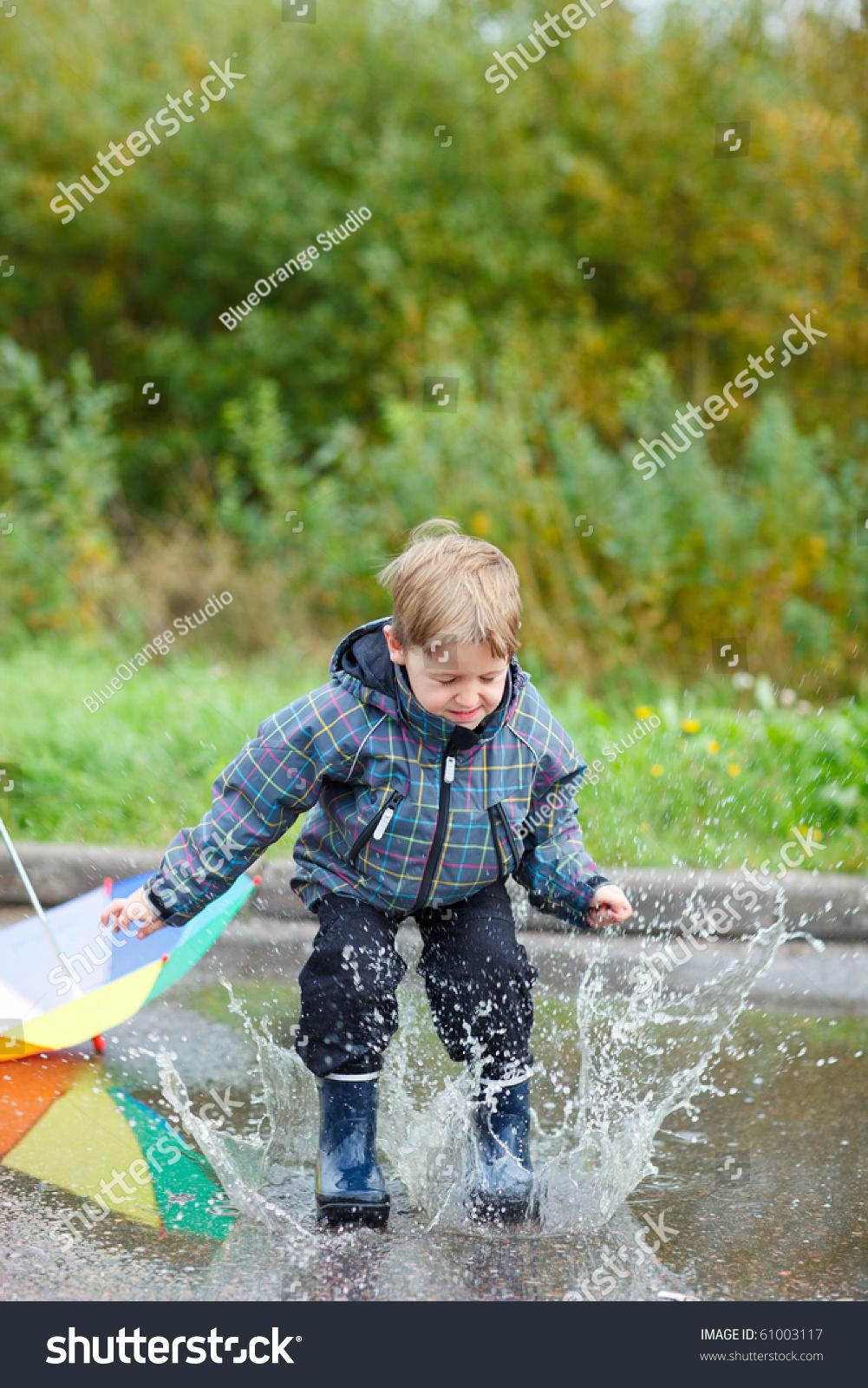 Playful puddles