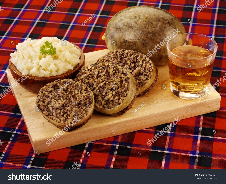 Scottish Haggis Burns Night Stock Photo Edit Now 610039874