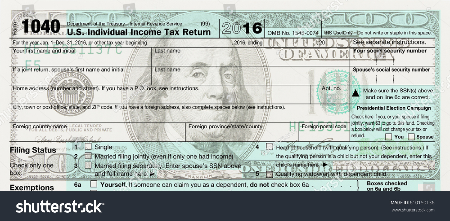 Us federal tax schedule c 1040 stock illustration 610150136 a us federal tax schedule c for 1040 income tax form on a 100 dollar bill falaconquin