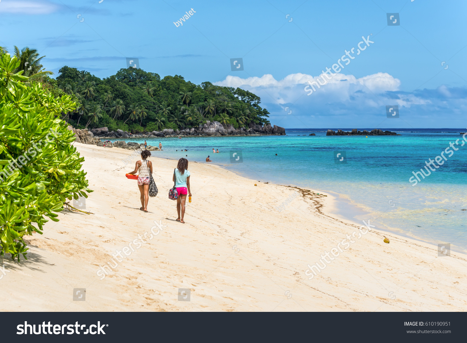 Anse Royale Mahe Seychelles December 152015 Stock Photo