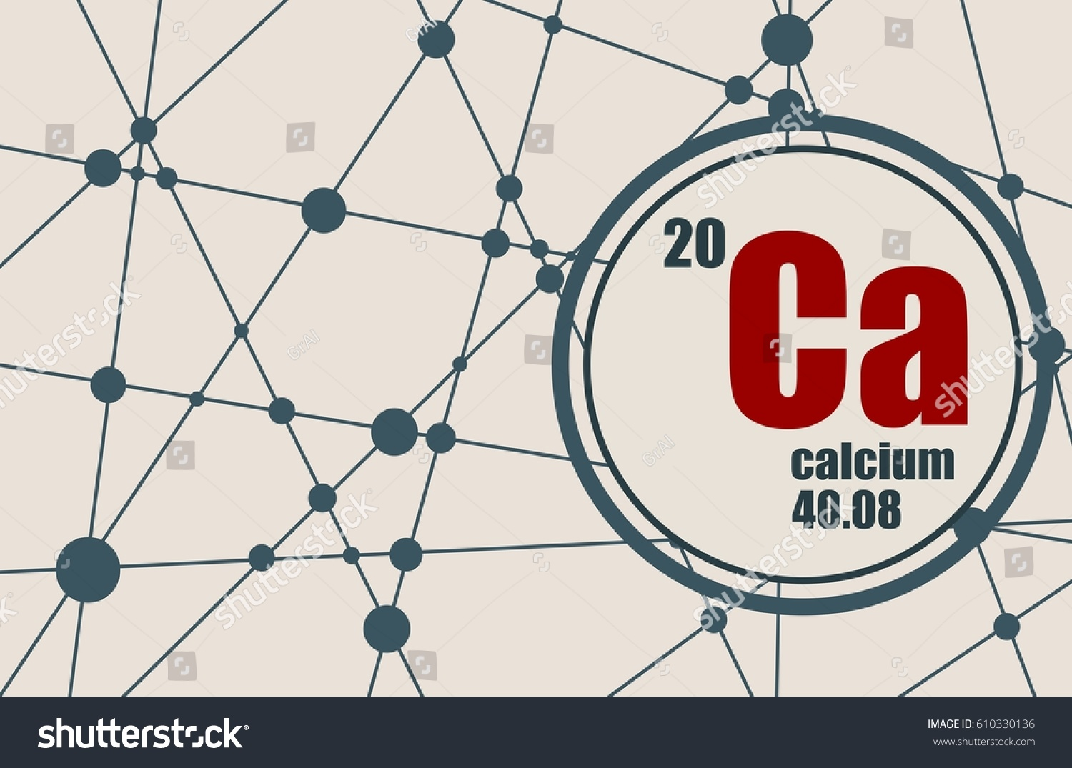 Calcium periodic table facts images periodic table images calcium chemical element sign atomic number stock vector 610330136 calcium chemical element sign with atomic number gamestrikefo Images