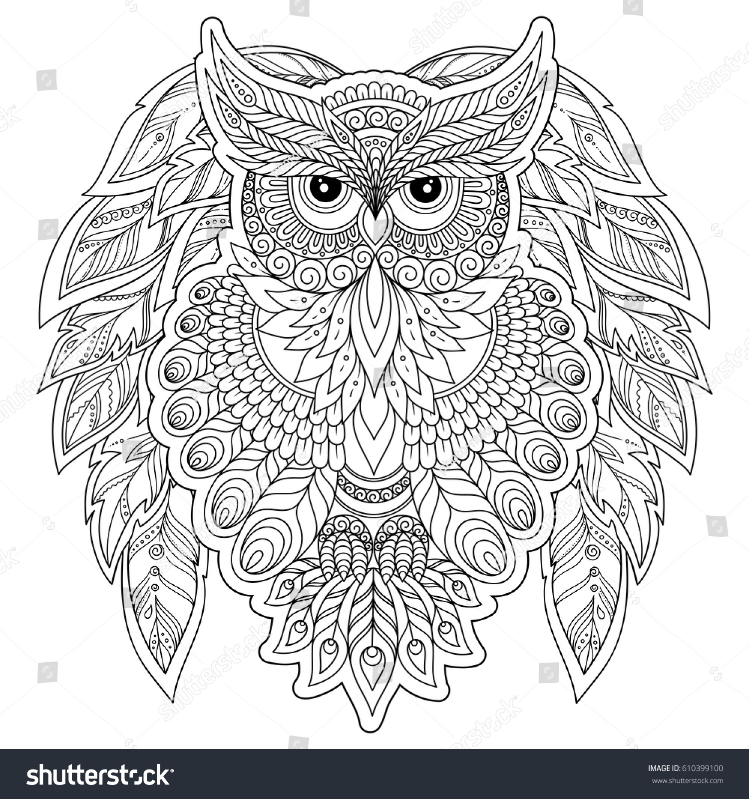 coloring book older children coloring stock vector 610399100
