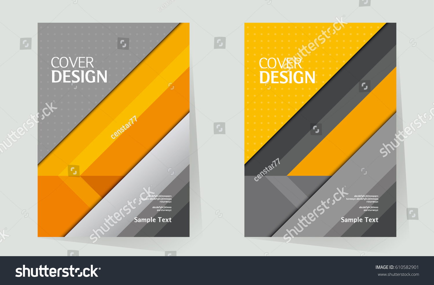 Corporate Book Cover Design Vector : Annual report design layout book cover stock vector
