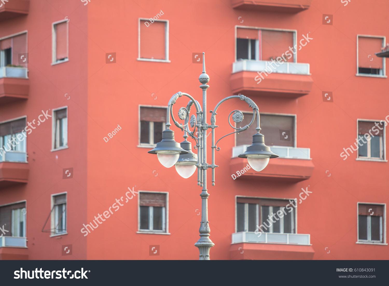 Big New Pink House White Windows Stock Photo (Edit Now) 610843091 ...