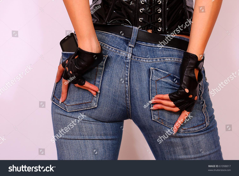 Sexy back pocket jeans