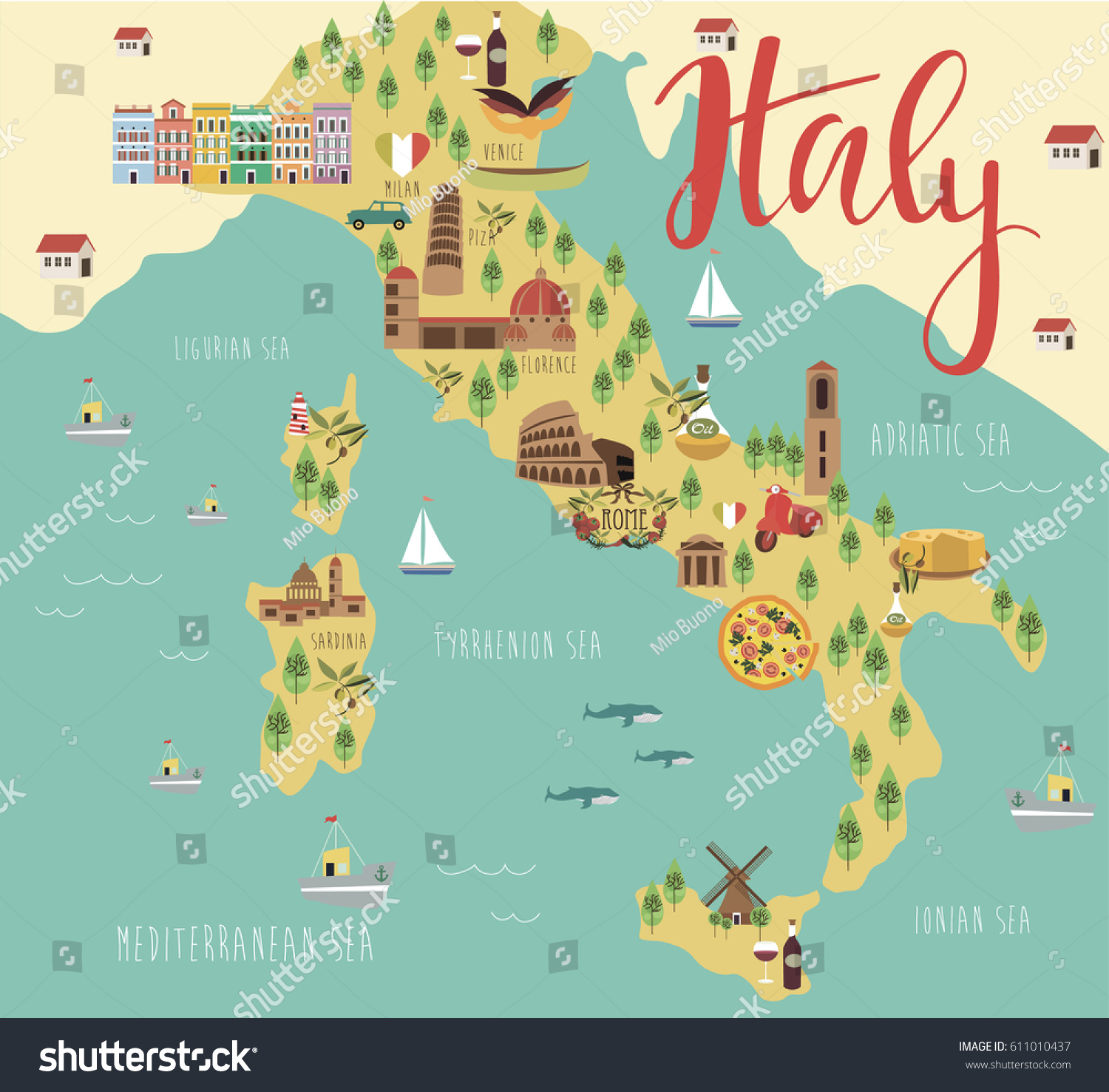Illustration Map Italy Animals Landmarks Vector Stock Vector ... on map travel, medical illustration, map art, map of victoria, map of belfast and surrounding areas, map paper, map background, map great britain, map of spanish speaking world, technical illustration, map infographic, map key, map print, product illustration, map books, map of california and mexico, map making, map of the south sewanee university, map cartoon, digital illustration, map app, map of louisiana and mississippi, map clipart, architectural illustration, map design,