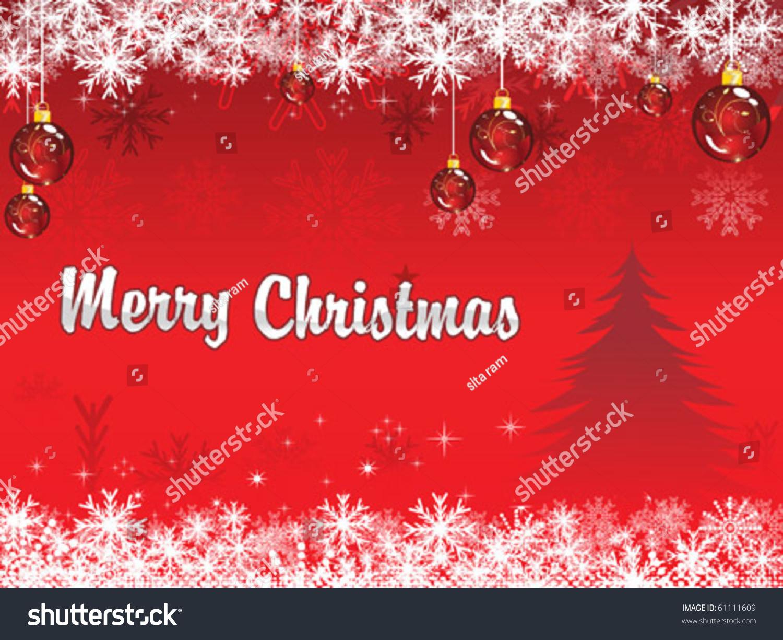 abstract christmas wallpaper vector illustration stock vector