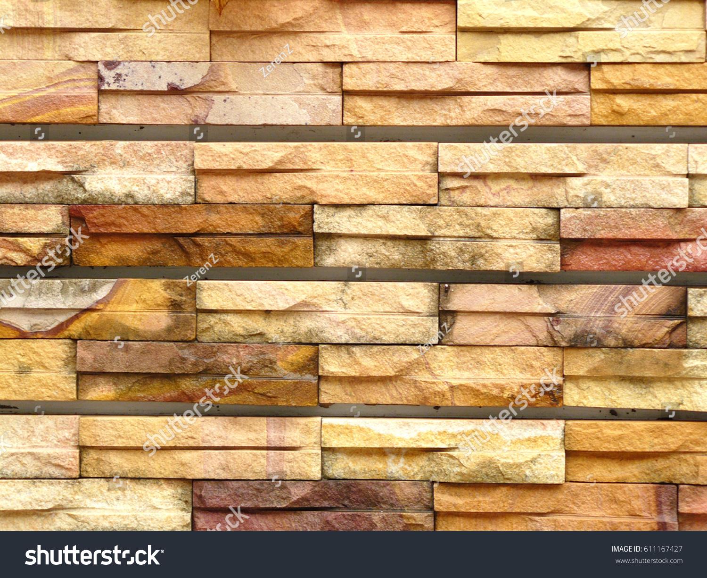 Photo Sandstone Pattern Sandstone Bricks Seamless Stock Photo ...