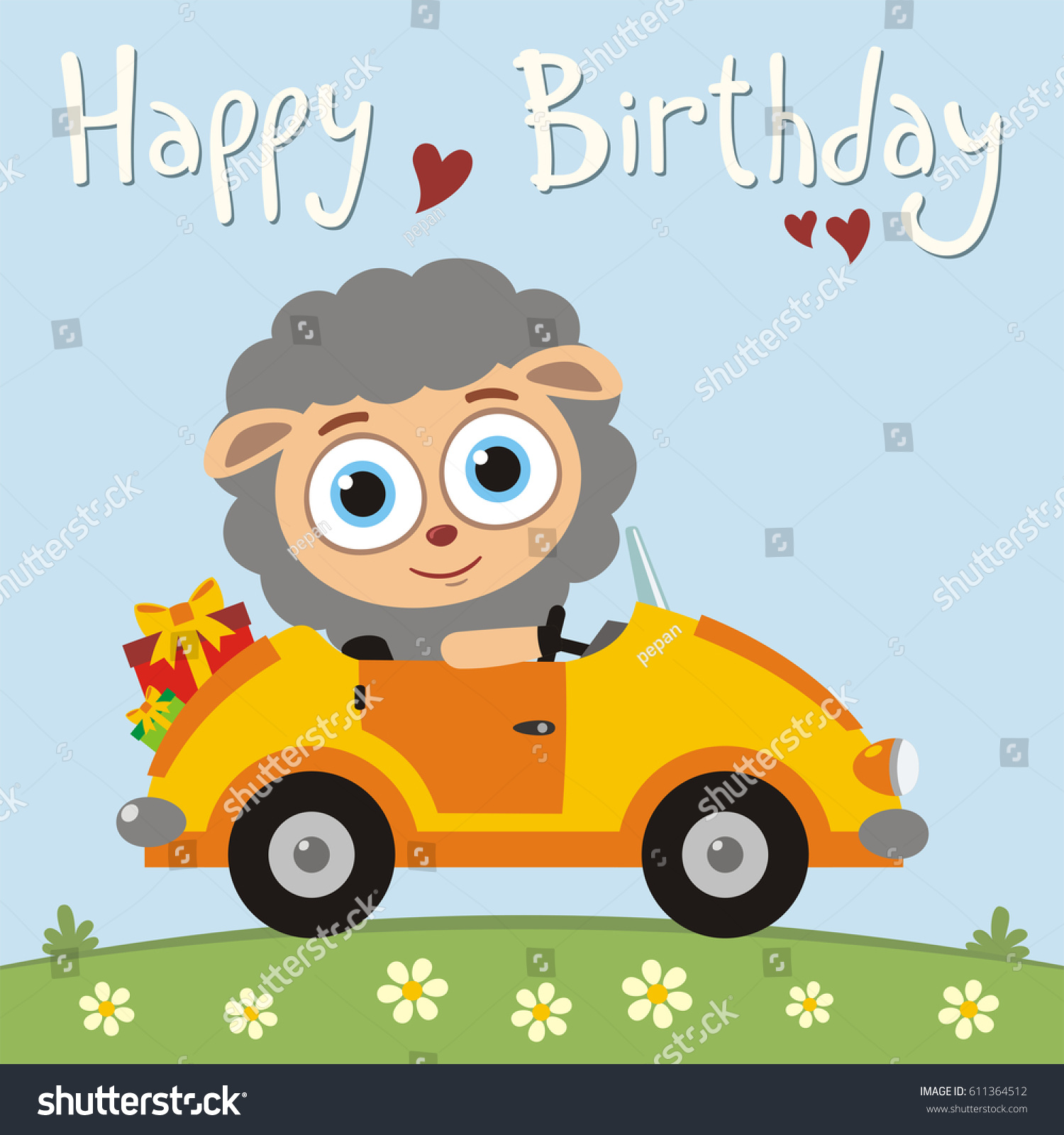Car Birthday Cards Free Birthday Cards