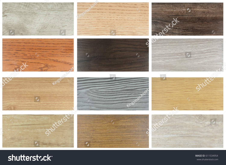 Wood Texture Floor Samples Laminate Vinyl Stock Photo Edit Now