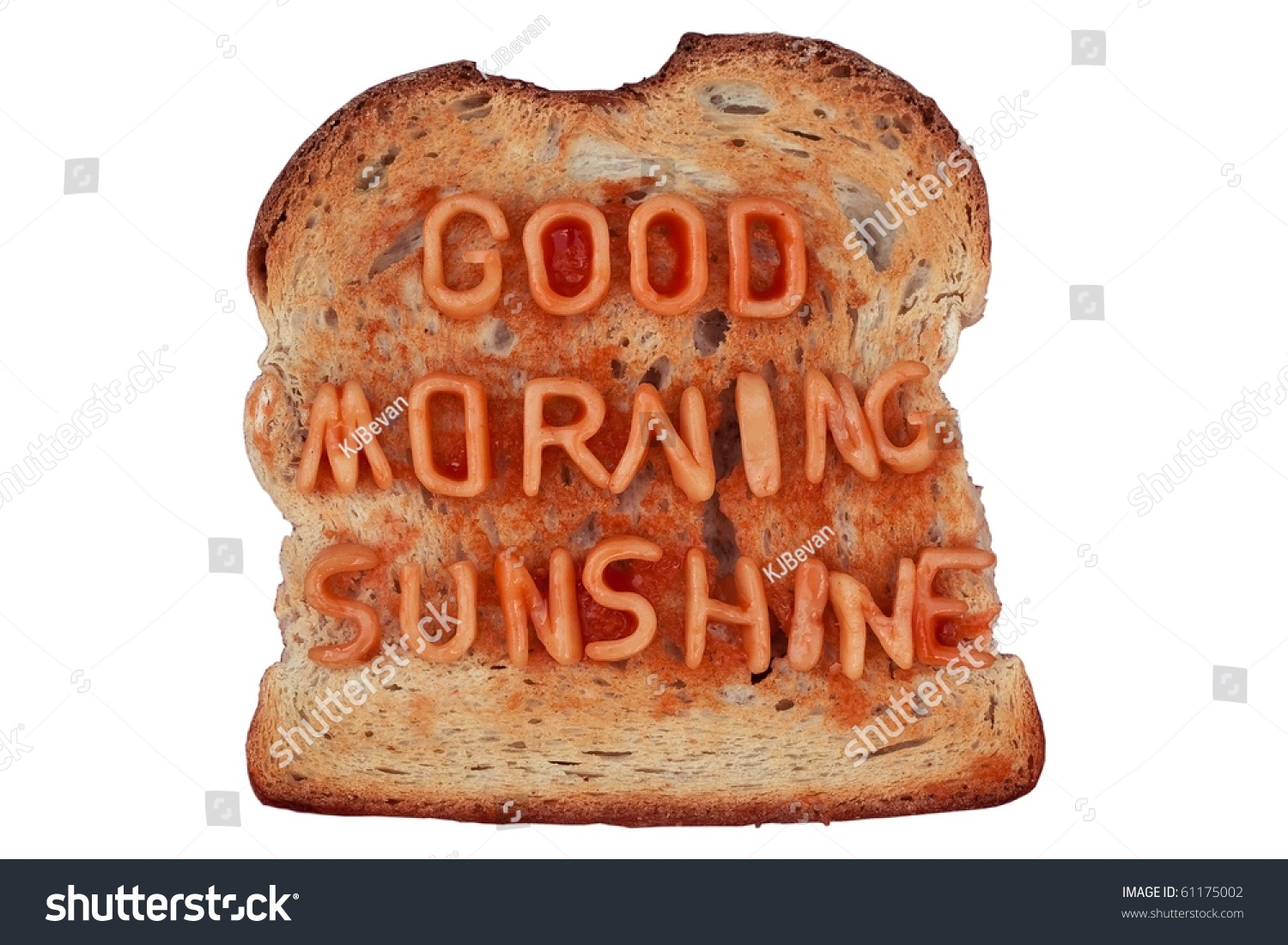 Good Morning Sunshine Letter : Toast with spaghetti letters spelling quot good morning