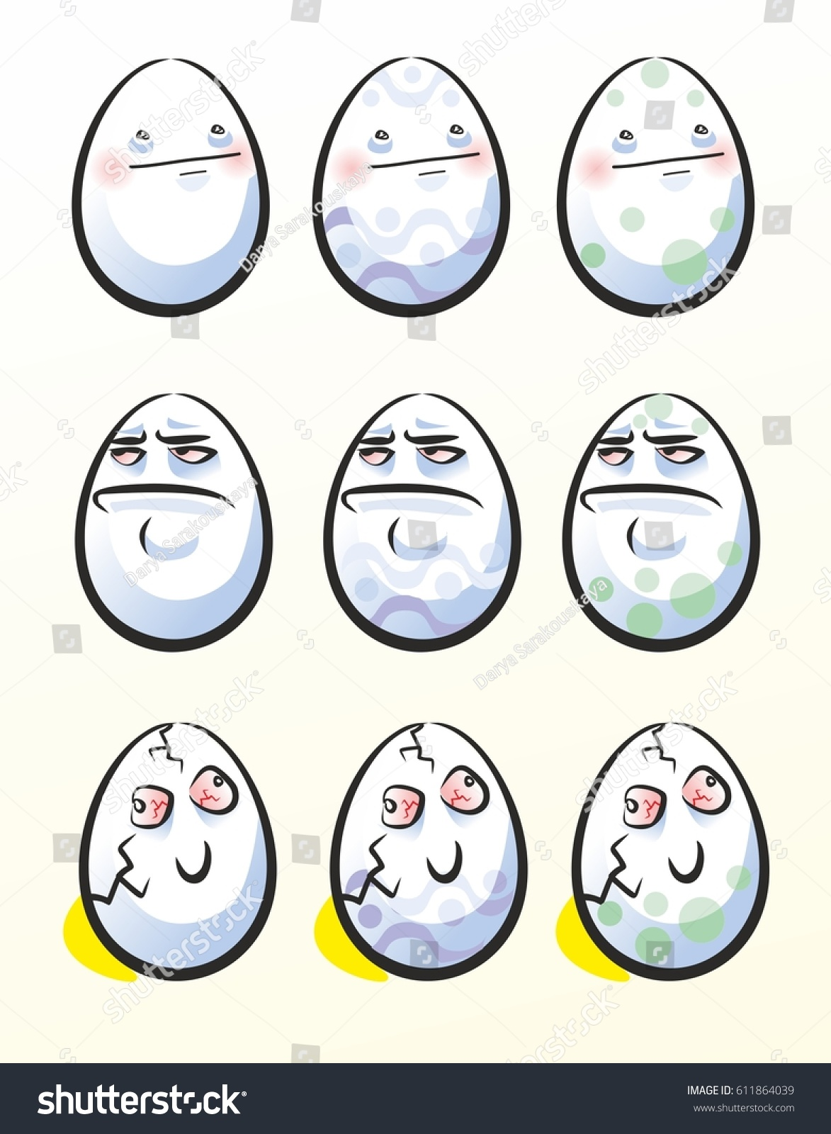 Easter egg on bright background trollface stock vector hd royalty easter egg on bright background trollface eggs internet meme character voltagebd Image collections