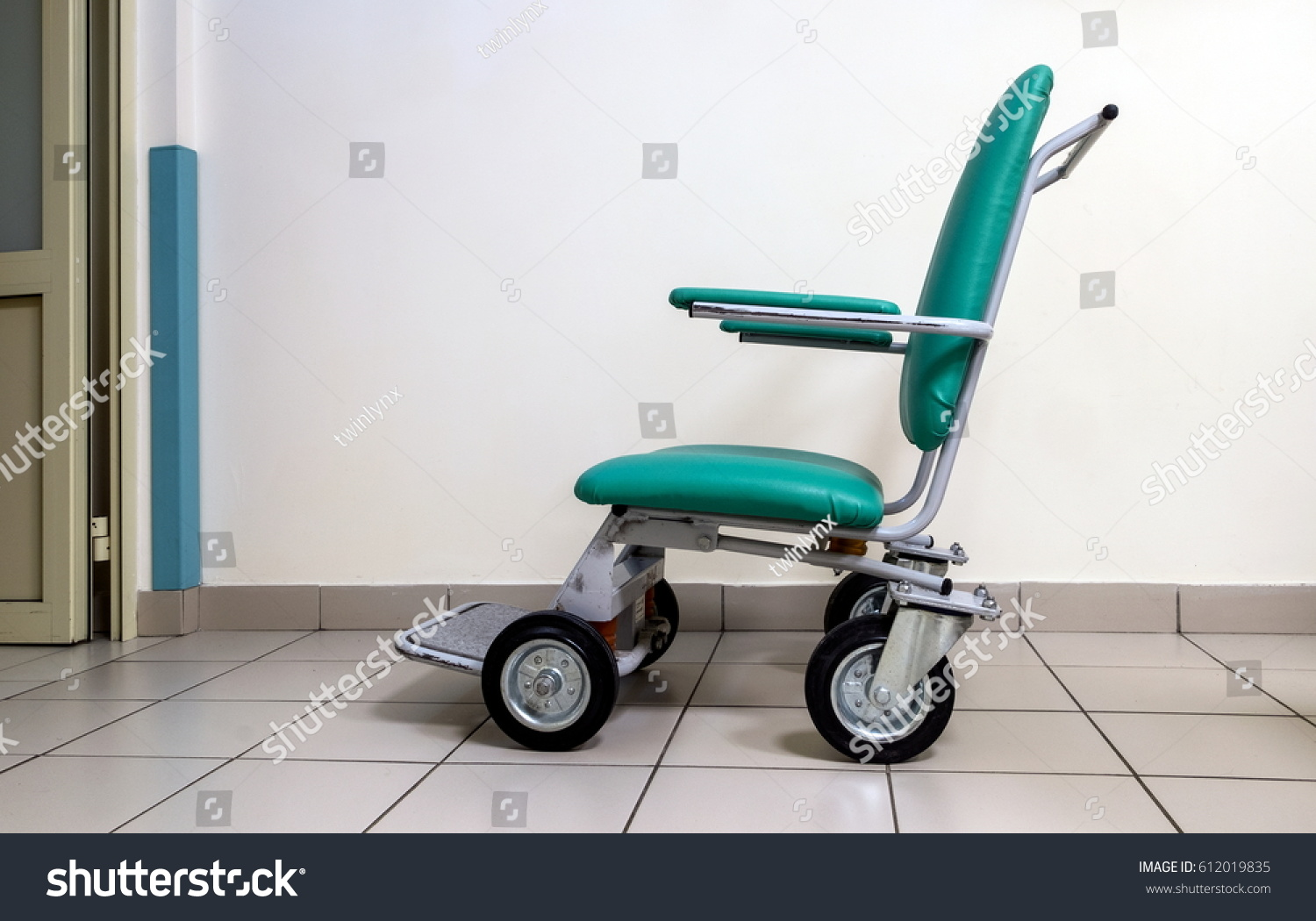 Chair Wheelchair Sick Physically Disabled People Stock Photo ...