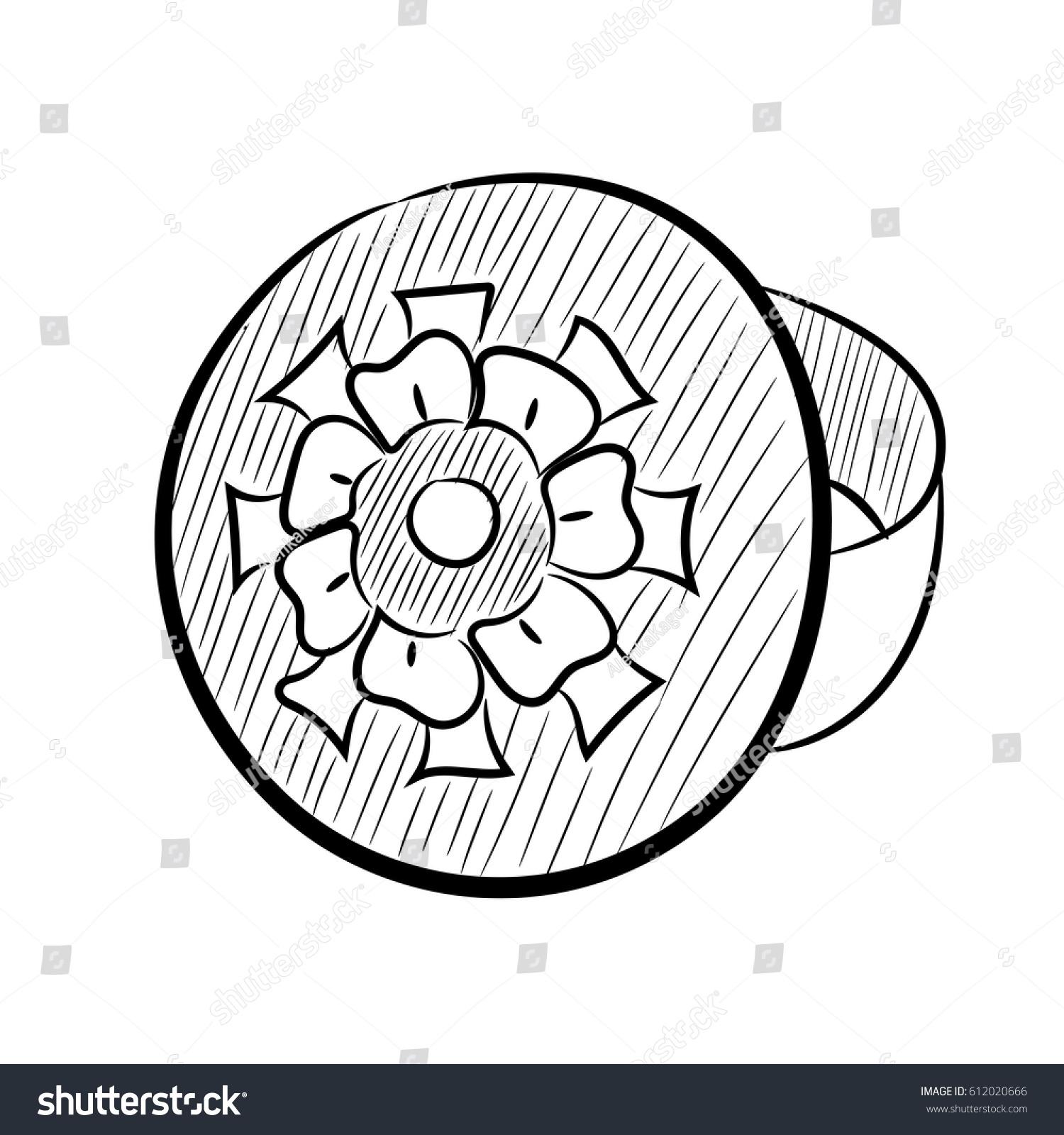 Ring Modern Decoration Style Ancient Scythians Stock Vector