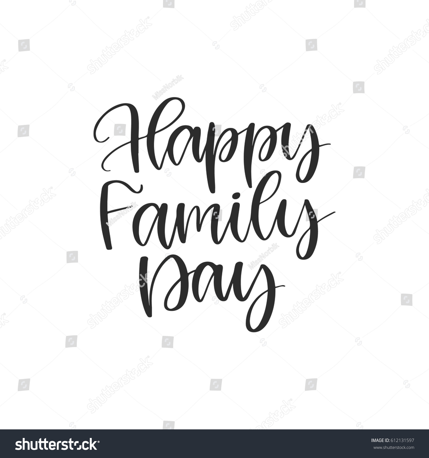 Image of: Motivational Quotes Vector Hand Drawn Motivational And Inspirational Quote Happy Family Day Calligraphic Poster Shutterstock Vector Hand Drawn Motivational Inspirational Quote Stock Vector