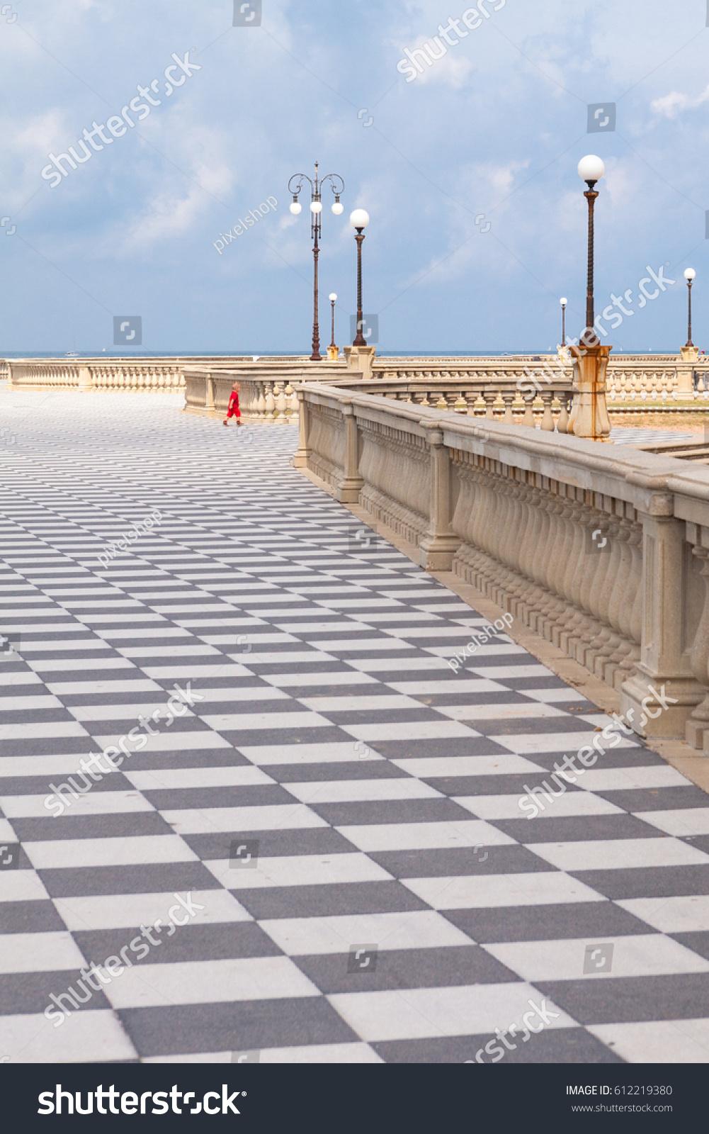 Terrazza Mascagni Livorno Tuscany Stock Photo 612219380 - Shutterstock