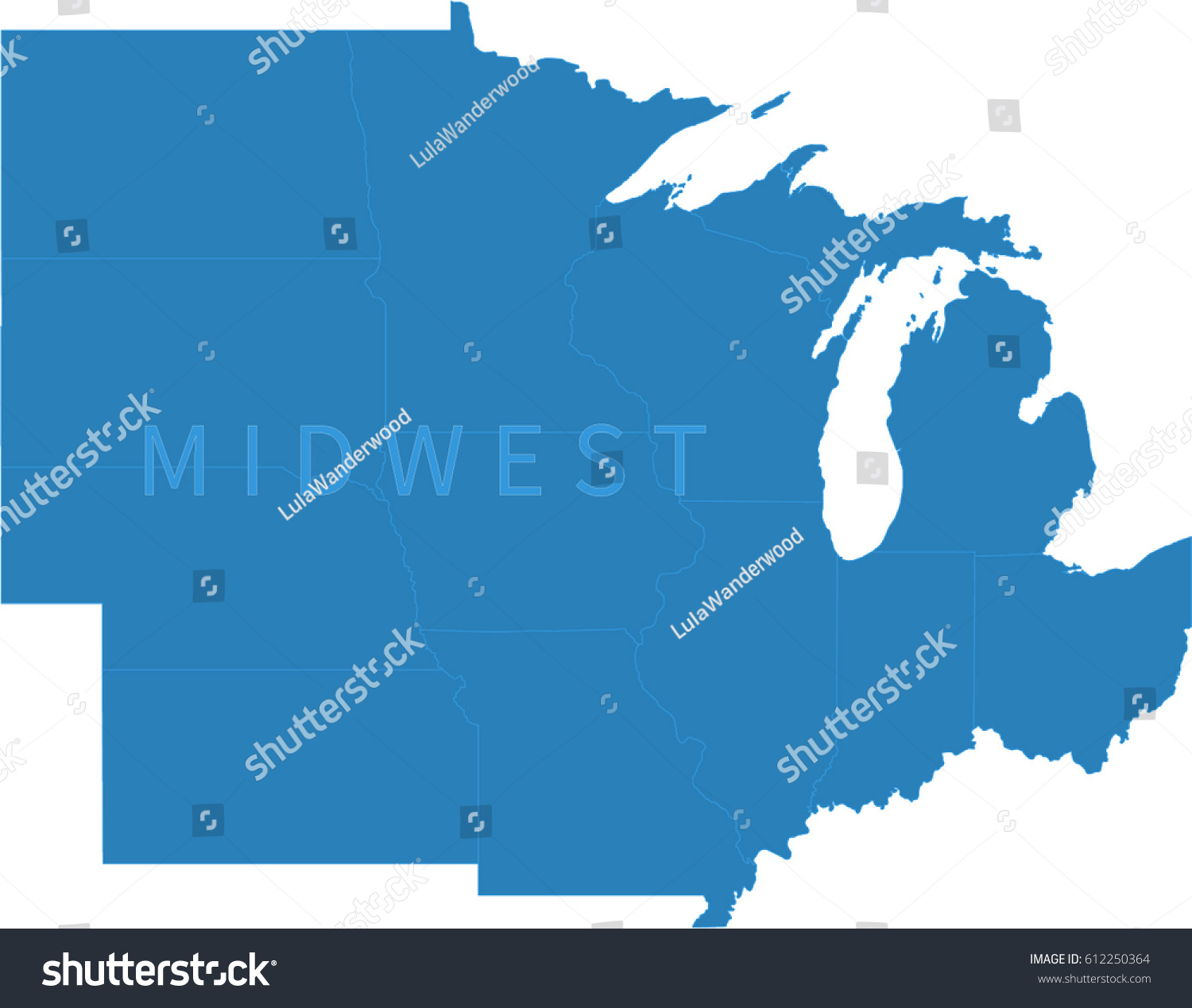 US MAP 12 Ways To Map The Midwest Maps Usa Map Midwest