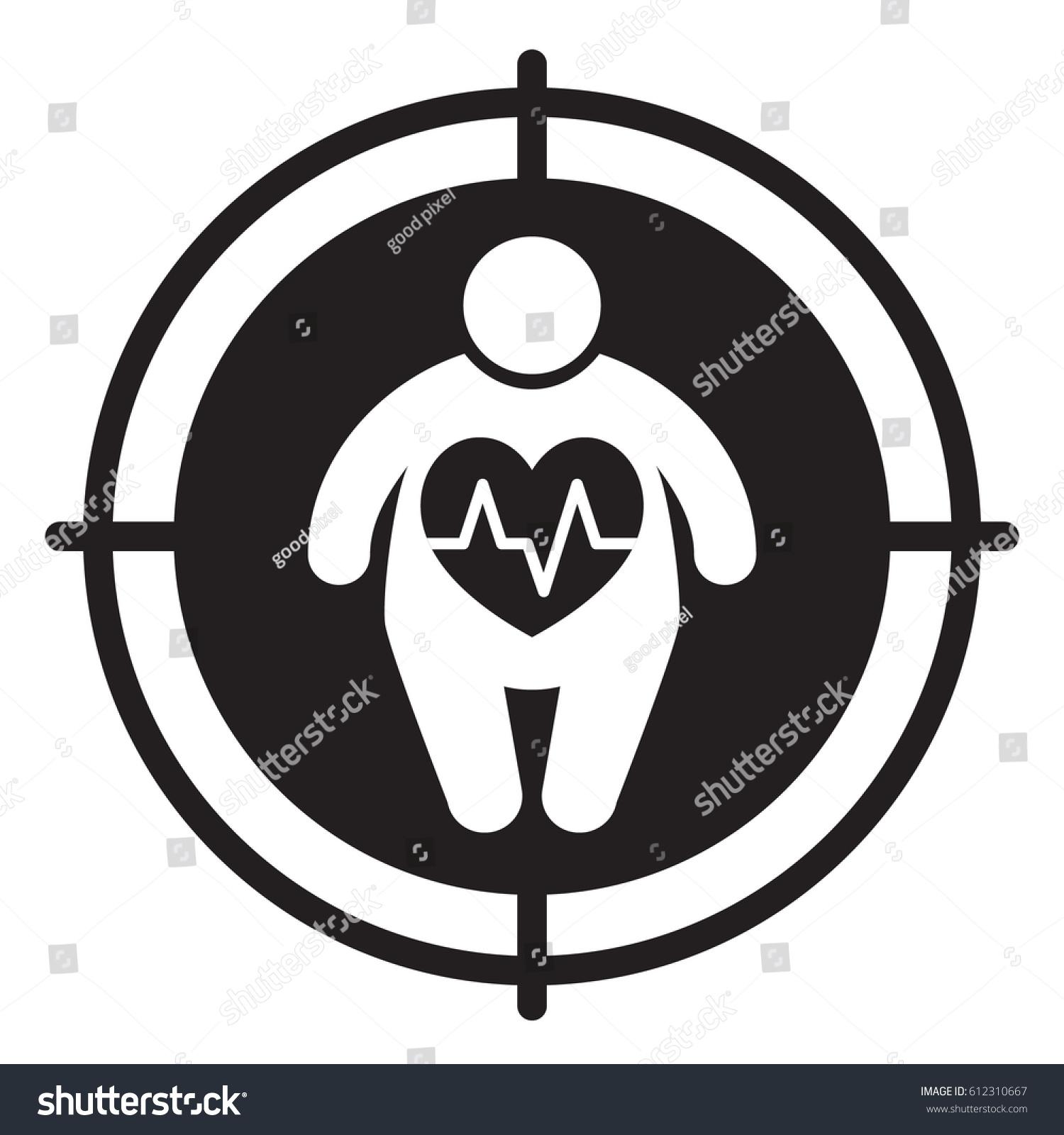 Fat man heart disease vector illustration stock vector 612310667 fat man and heart disease vector illustration biocorpaavc