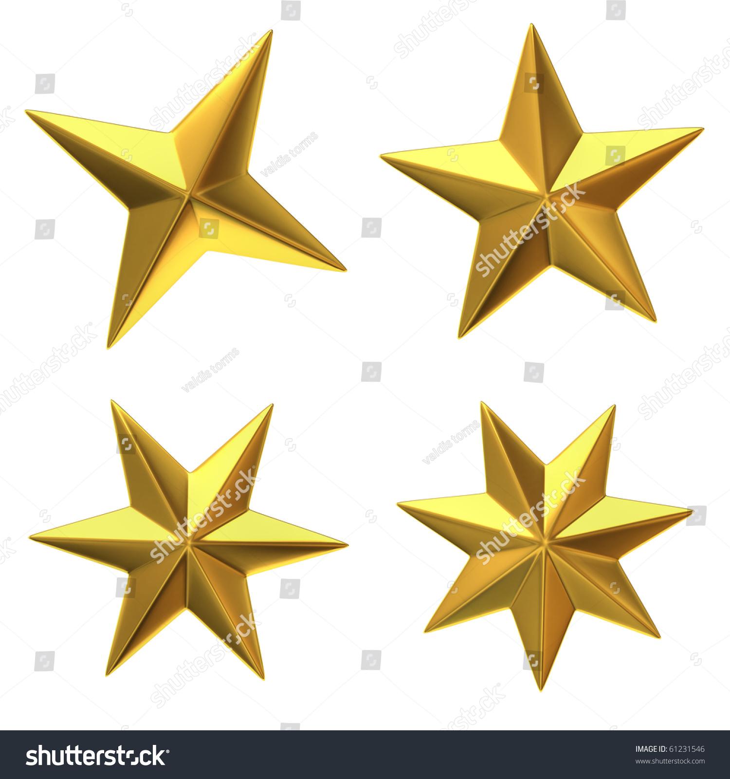 Gold Stars Stock Illustration 61231546 - Shutterstock - photo #14