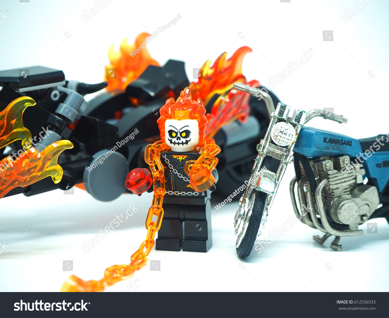 April 012017 Studio Shot Ghost Rider Stock Photo (Edit Now) 612536933