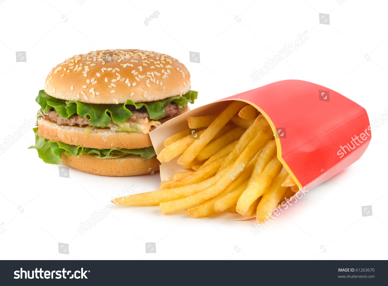 hamburger and fries wallpaper - photo #19