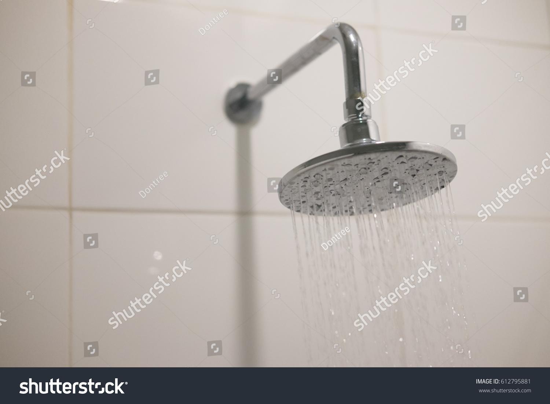 Big Shower Head Bathroom Modern Bathroom Stock Photo 612795881 ...