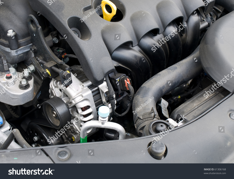 Car Alternator Engine Stock Photo Edit Now 61306168