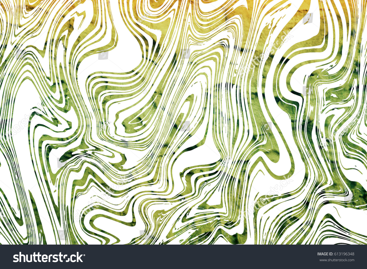 Line art abstract : Green line art abstract background stock illustration