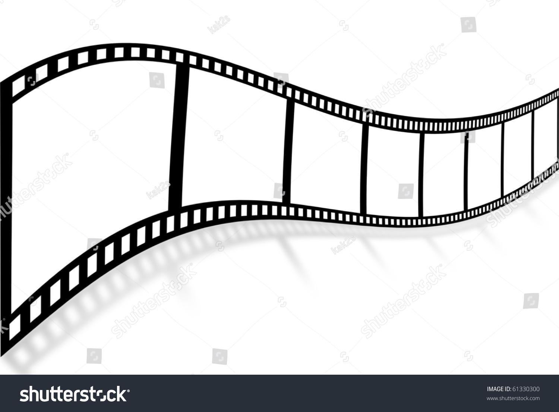 Blank Film Strip Stock Photo 61330300 : Shutterstock