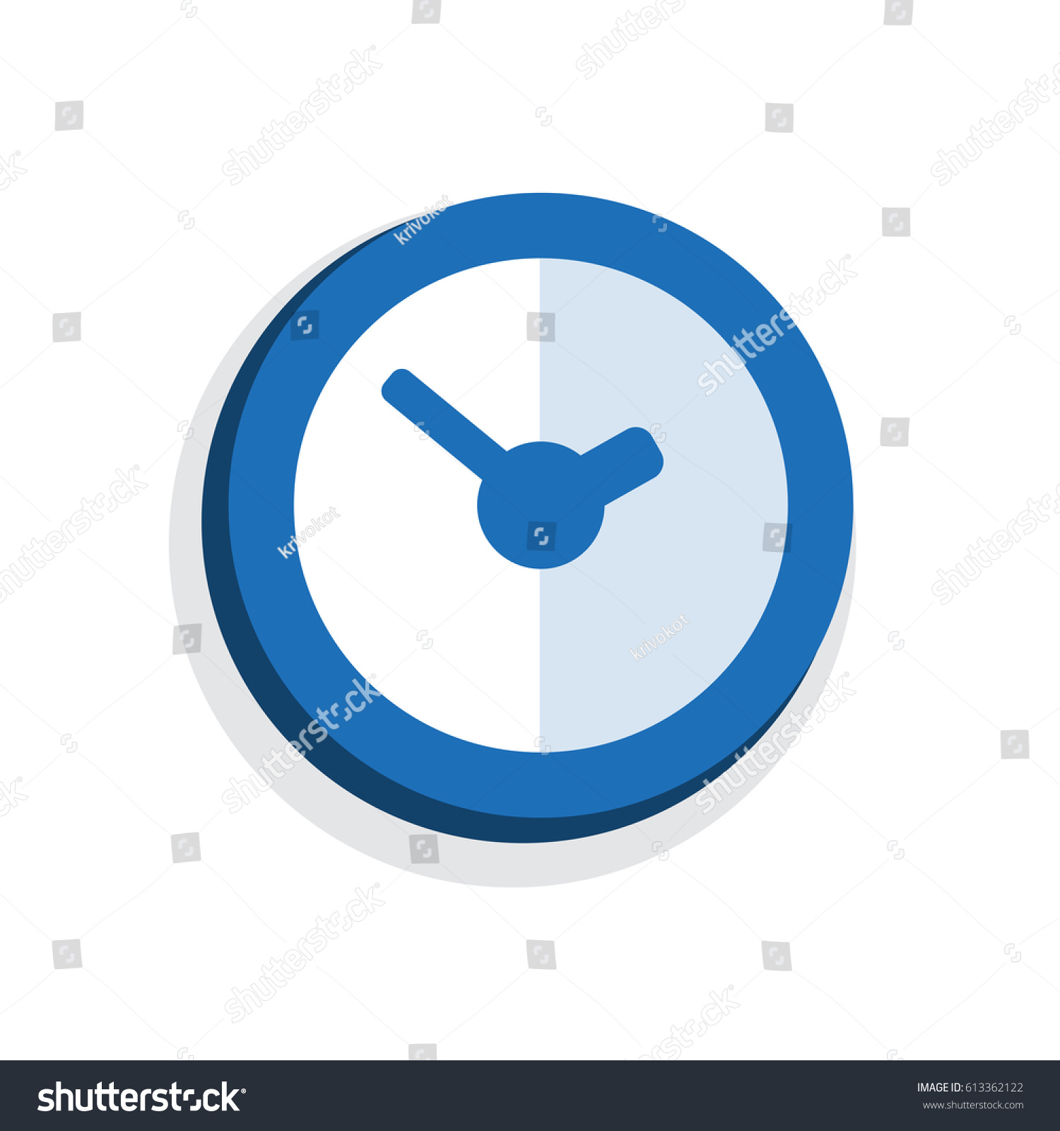 Time Minutes Thin Line Icon Duration Stock Vector 613362122 ...
