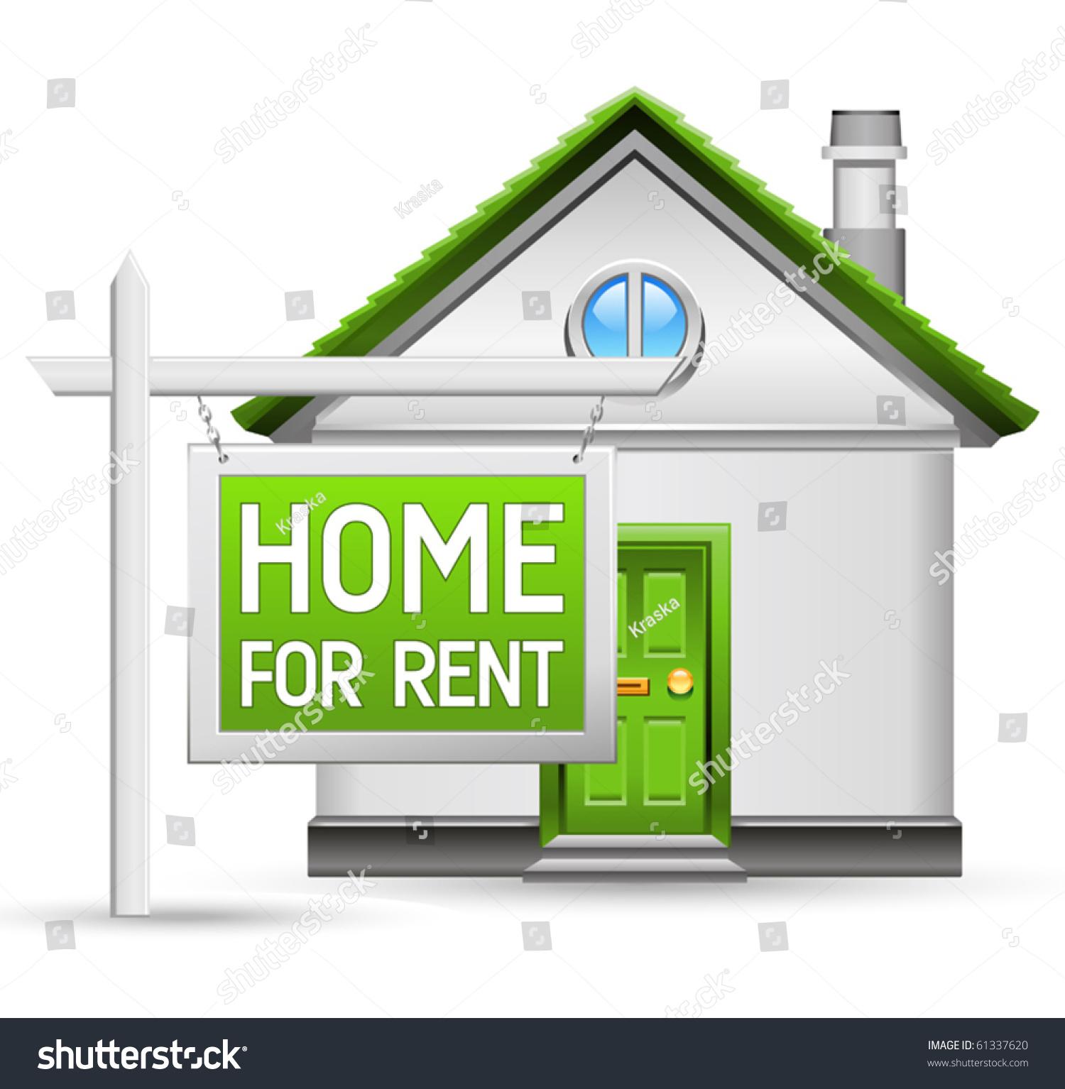 Home Rent Icon Stock Vector 61337620