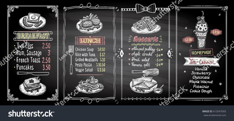 Lena S Cafe Menu