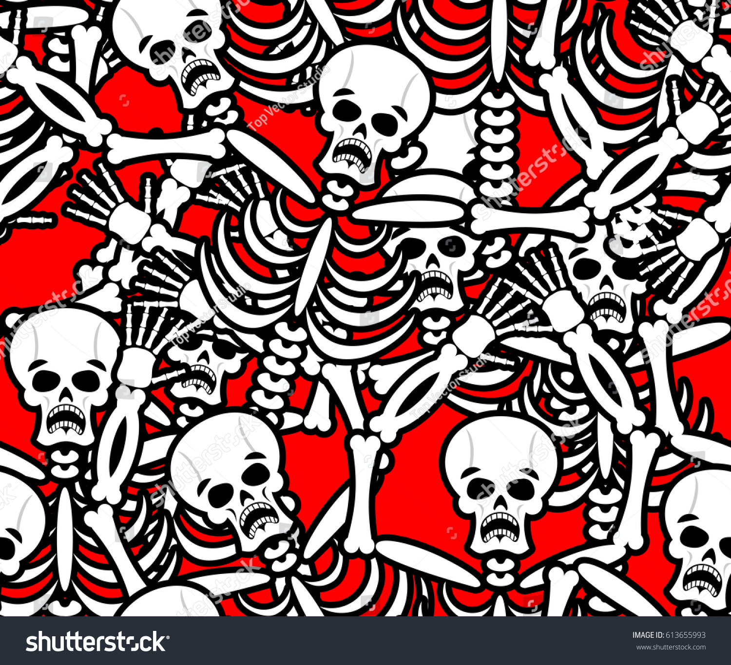 Anatomy Of Hell In English hell seamless pattern skeleton sinners background stock