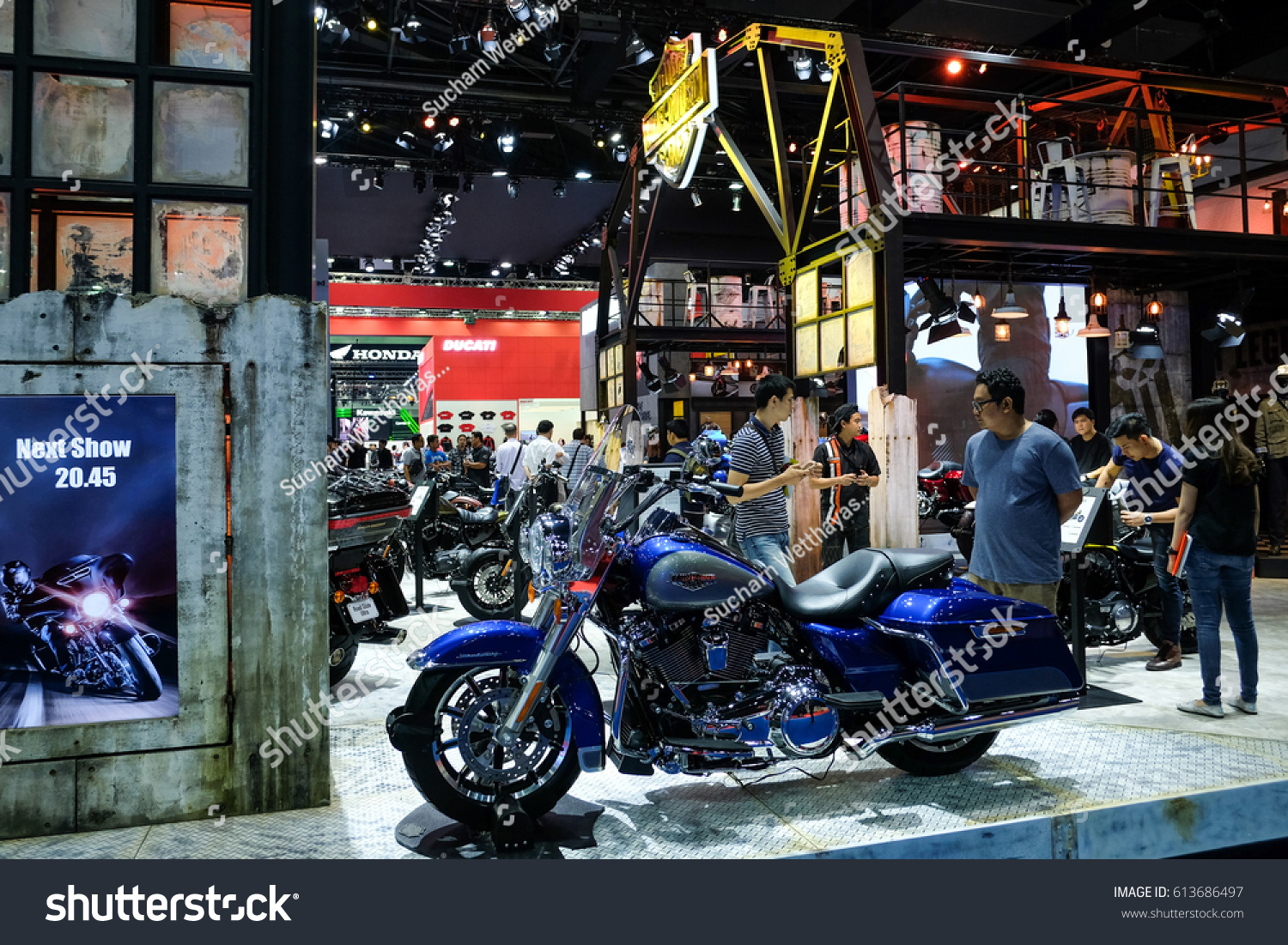 Exhibition Booth Bangkok : Bangkok motor show thailand muang thong stock photo