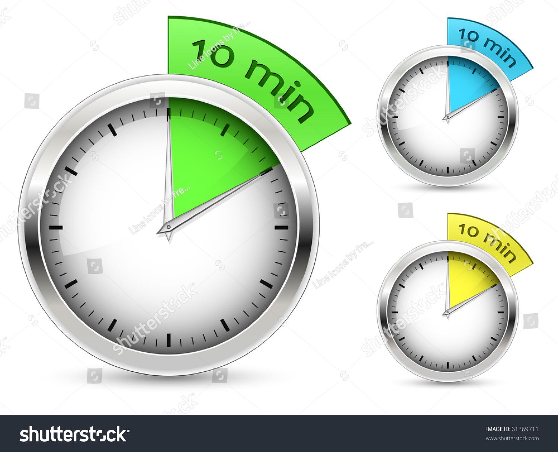 set 10 min timer