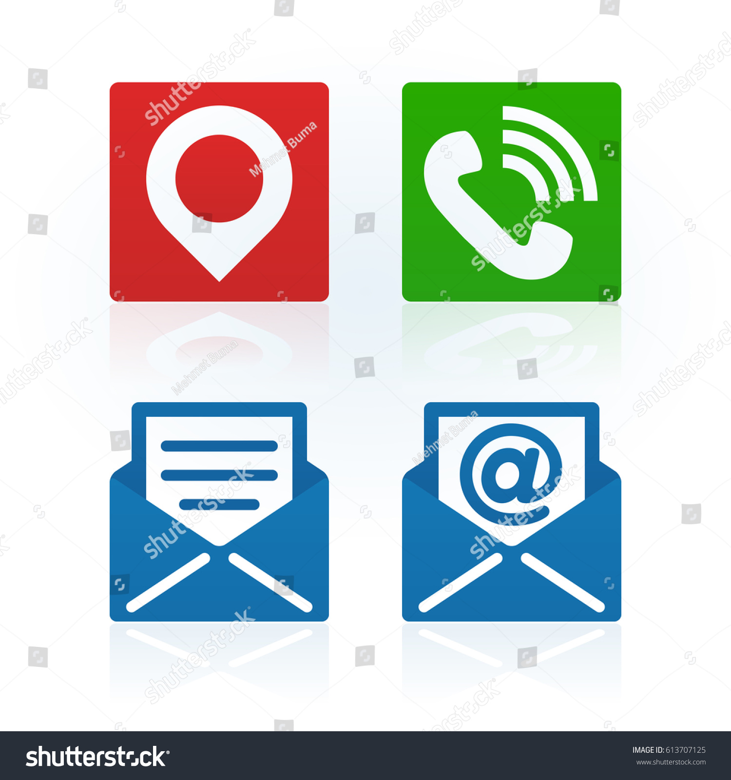 Design address phone email symbols on stock vector 613707125 design of address phone and email symbols on white background for your corporate projects biocorpaavc