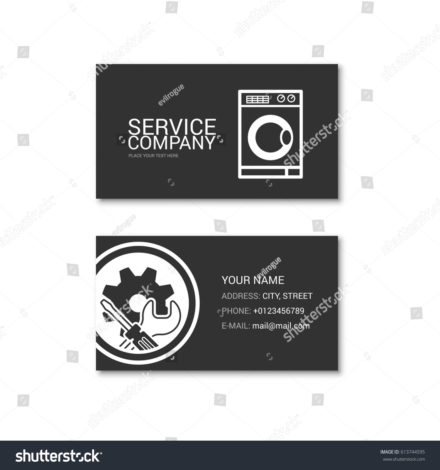 Machine Shop Business Cards Gallery - Free Business Cards