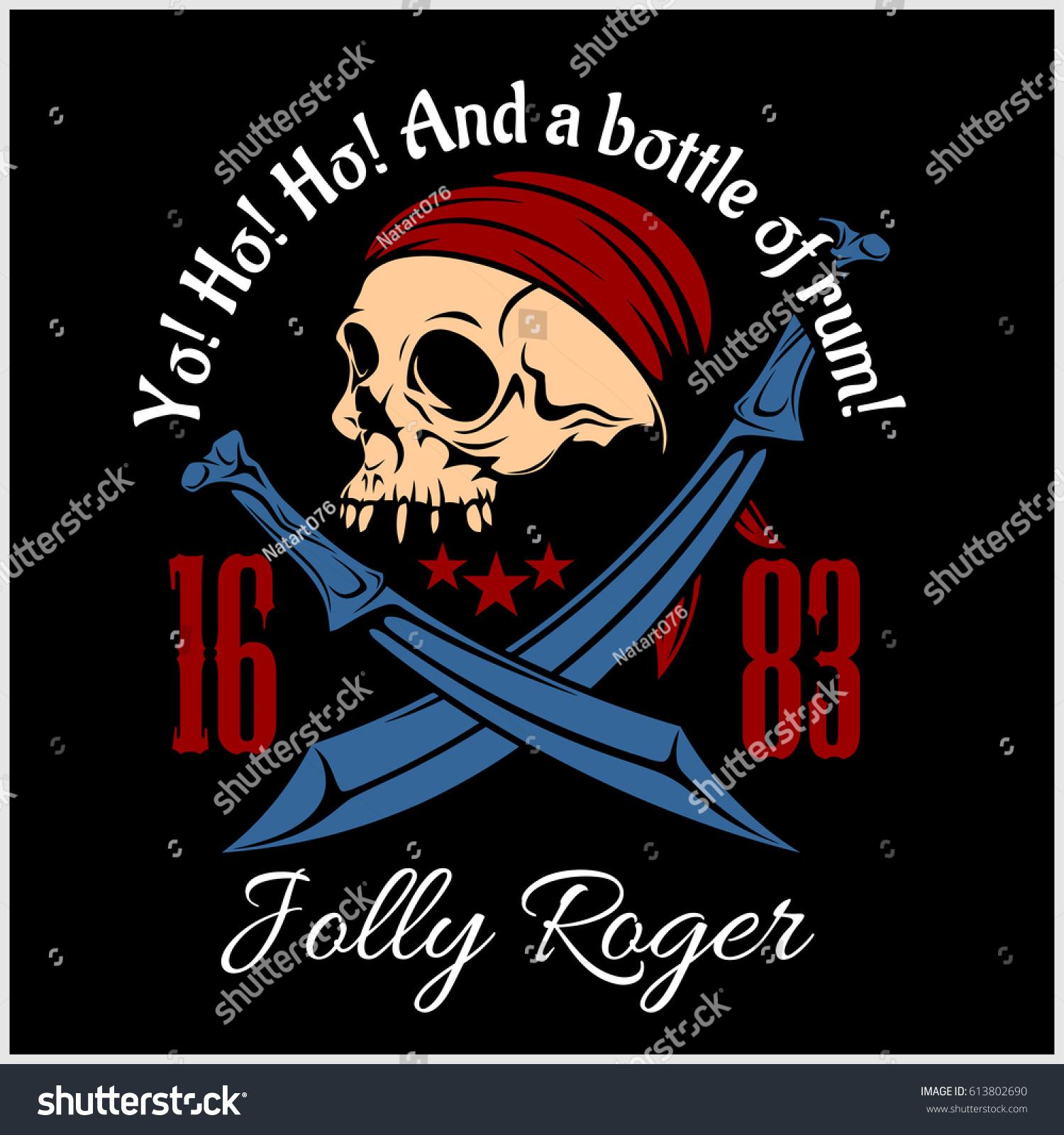 Shirt design elements - Vintage Pirate Labels Or Design Elements Fits Perfect For A T Shirt Design