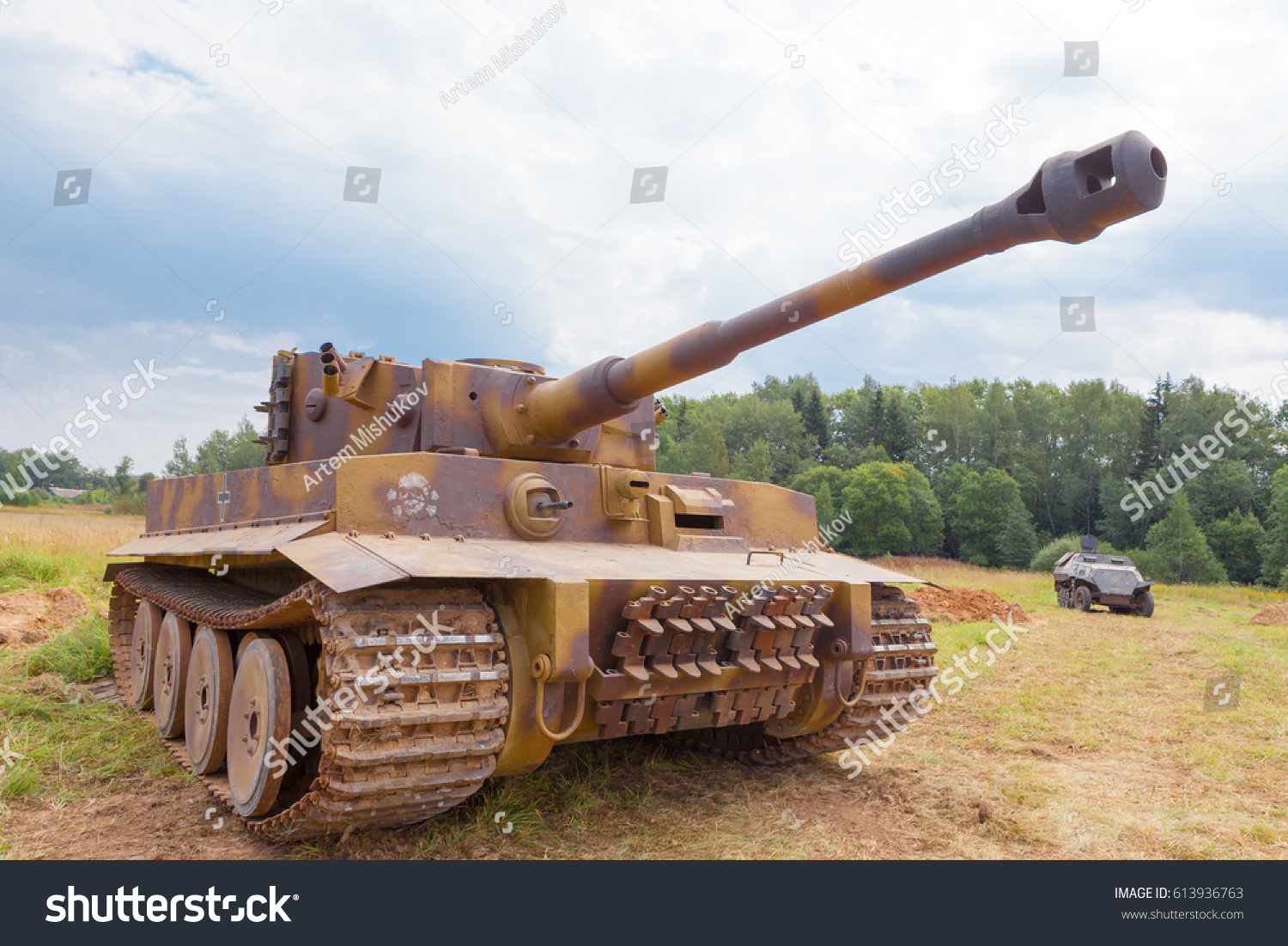 Tiger Tank Model Images Stock Photos Vectors Shutterstock