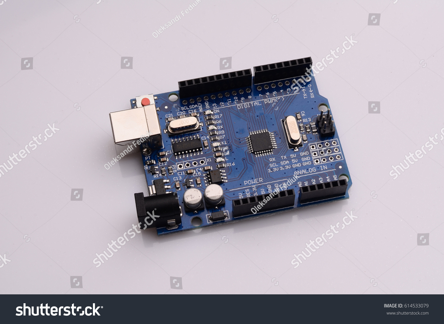 Integrated Circuits Closeup Printed Circuit Board Stock Photo Edit Of A With Components Such As