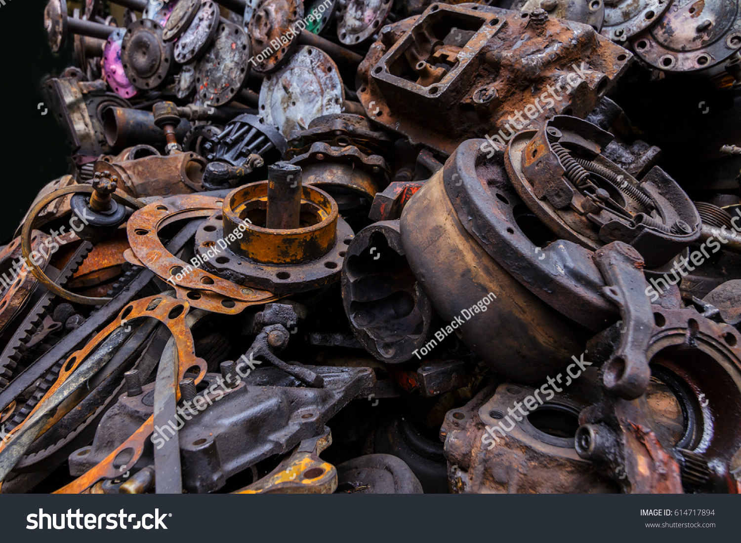 Rust Car Parts Used Car Parts Stock Photo (Edit Now)- Shutterstock