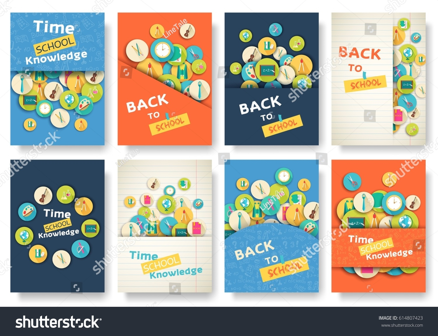 Back school information pages set education stock vector 614807423 back school information pages set education stock vector 614807423 shutterstock pronofoot35fo Images