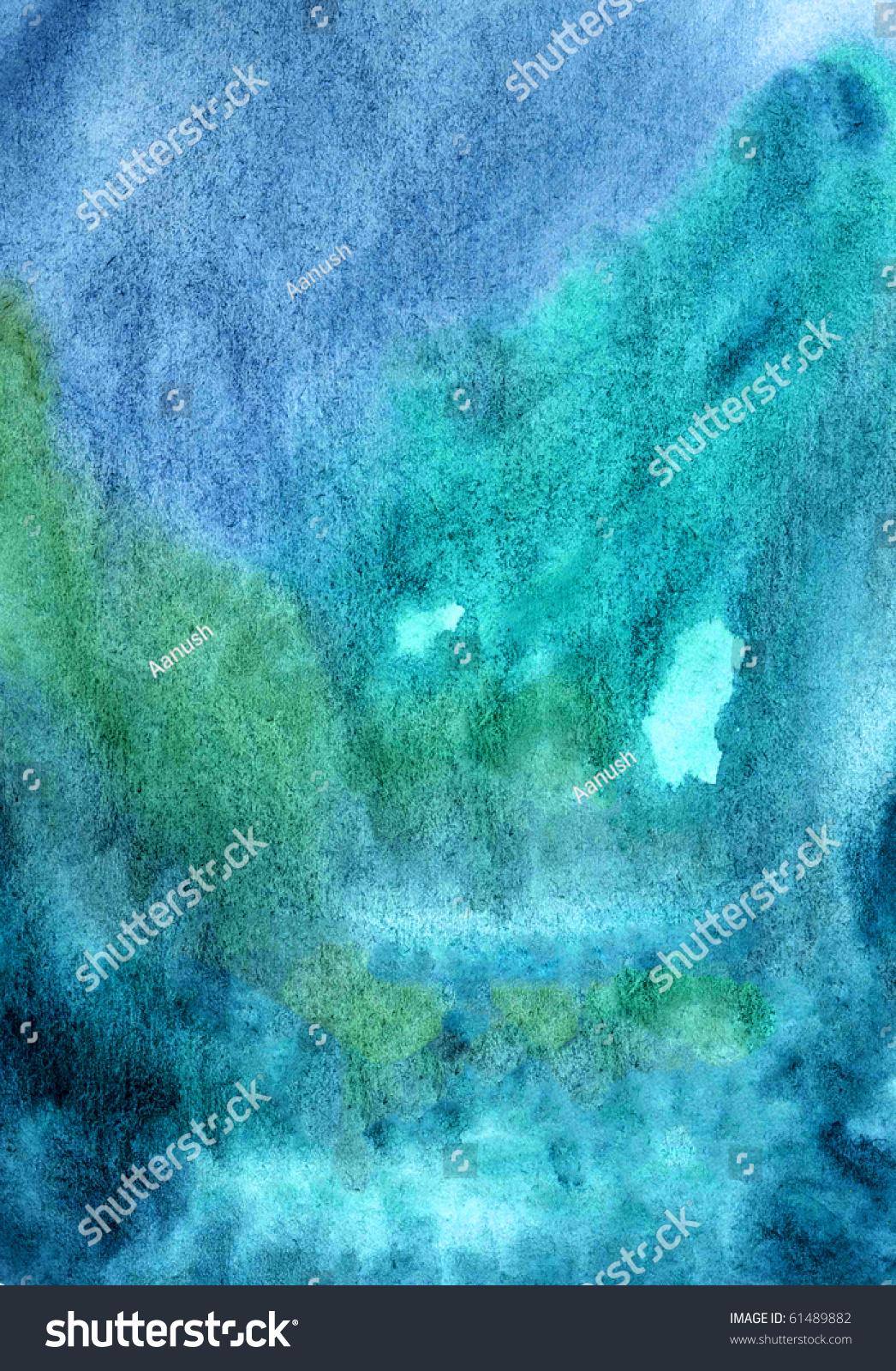 deep dark blue background water color painting wallpaper stock photo 61489882 shutterstock. Black Bedroom Furniture Sets. Home Design Ideas