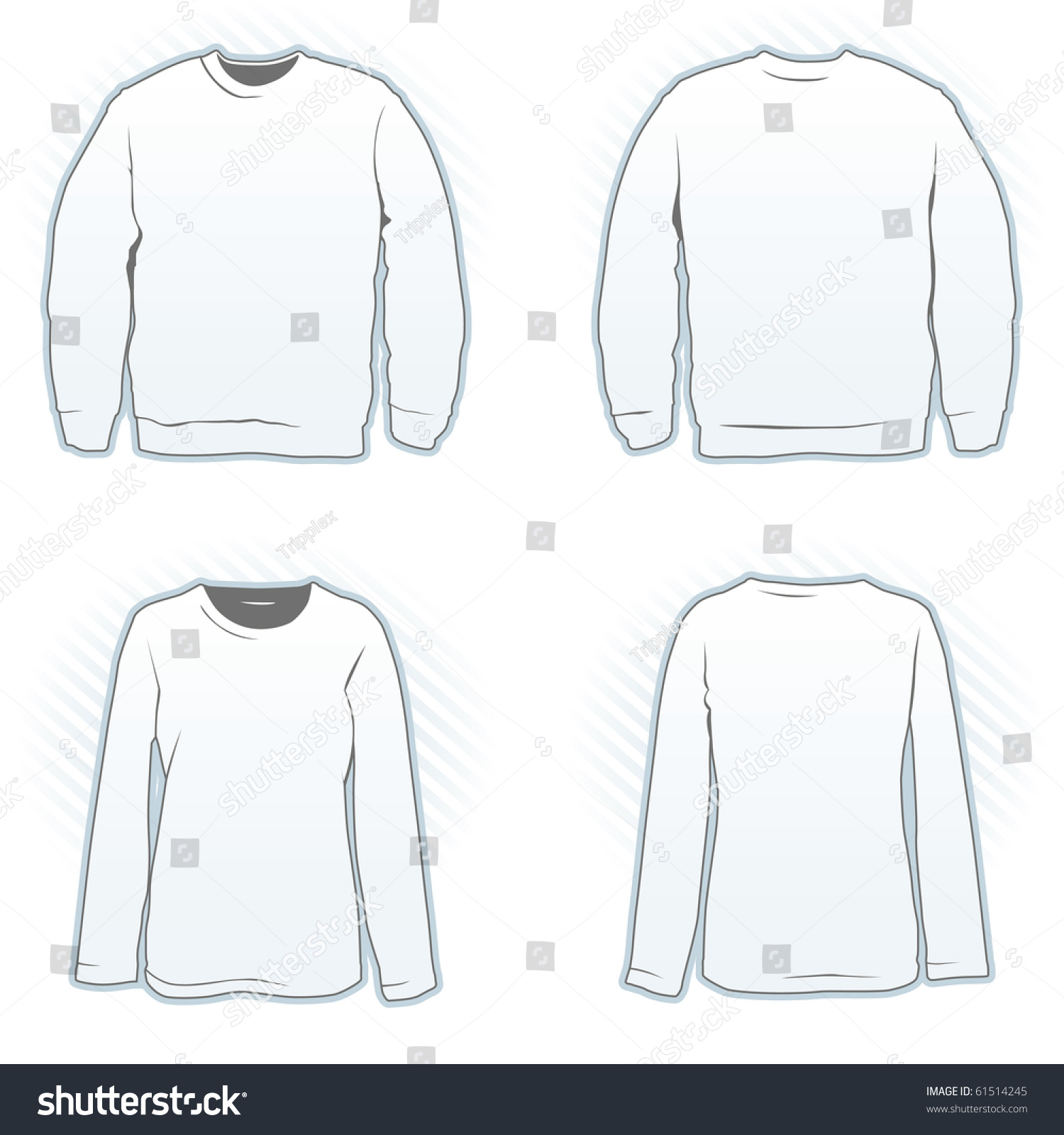 the gallery for gt sweatshirt back template