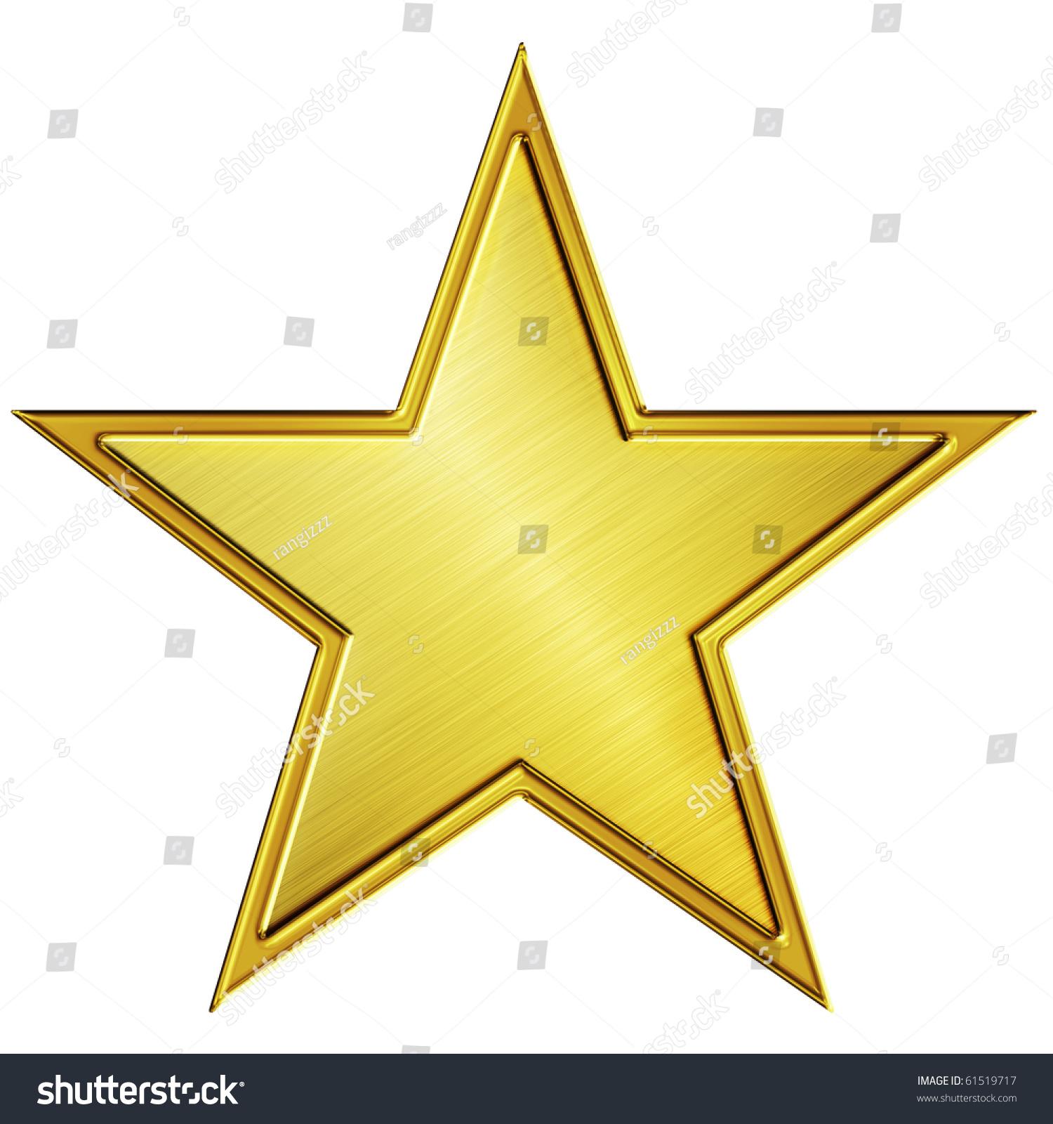Gold Star Stock Illustration 61519717 - Shutterstock - photo #4